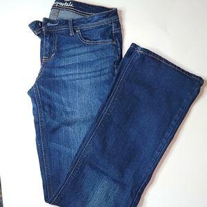 Women's aeropostale flex fit jeans size 2 reg